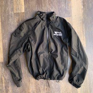 In n out track windbreaker jacket